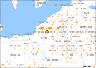 map of Bancabanca