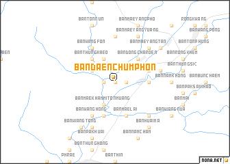 map of Ban Daen Chumphon