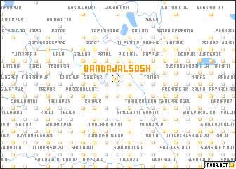 map of Banda Jalsosh