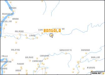 map of Bandala