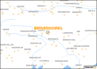 map of Bānda Nikki Pail