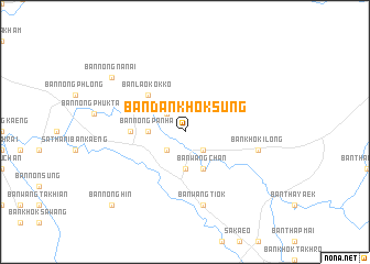map of Ban Dan Khok Sung