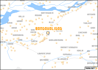 map of Bāndawāli Dād
