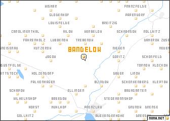 map of Bandelow