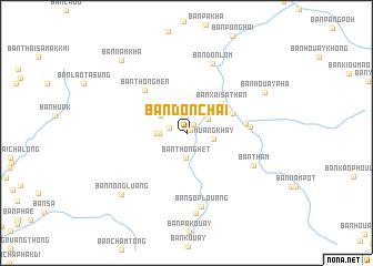 Ban Donchai Laos map nonanet
