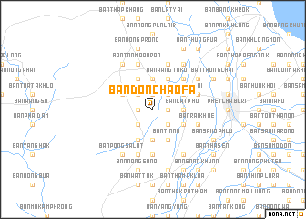 map of Ban Don Chao Fa