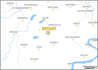 map of Bandon