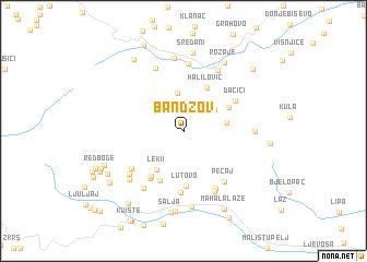 map of Bandžov