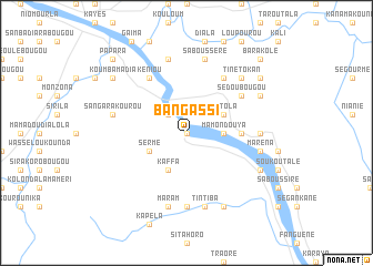 map of Bangassi