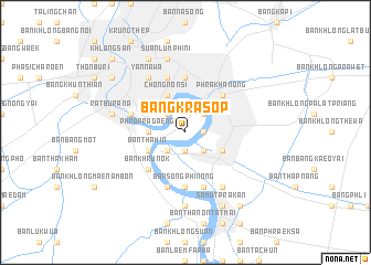 map of Bang Krasop