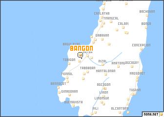 map of Bangon