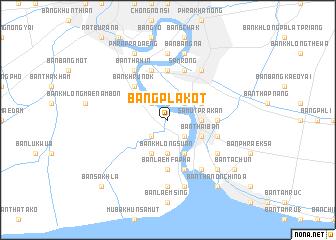 map of Bang Pla Kot
