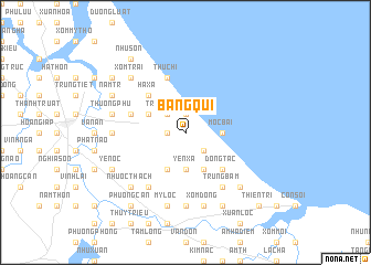 map of Bàng Quí