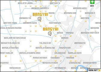 map of Bang Yai