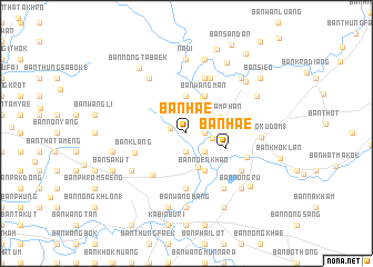 map of Ban Hae