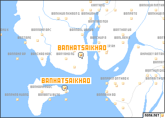 map of Ban Hat Sai Khao