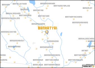 Phitsanulok Thailand Map.Ban Hat Yai Thailand Map Nona Net