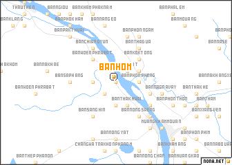 map of Ban Hom