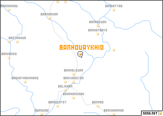 map of Ban Houay Khio