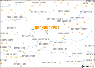map of Ban Houaypôt