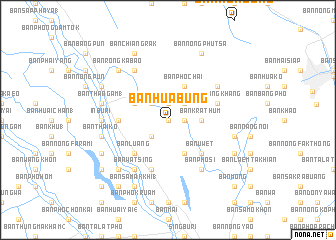 map of Ban Hua Bung