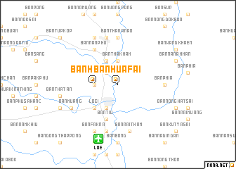 map of Ban Hua Fai