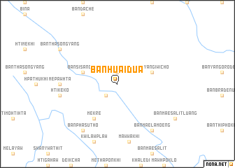 map of Ban Huai Dua