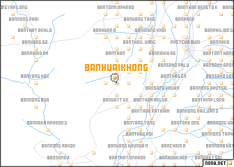 map of Ban Huai Khong