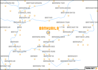 map of Ban Huai La