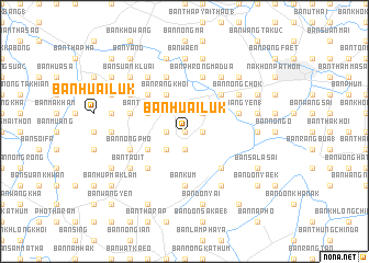 map of Ban Huai Luk