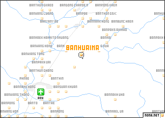 map of Ban Huai Ma