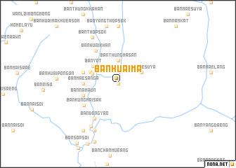 map of Ban Huai Ma