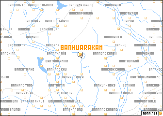 map of Ban Hua Rakam