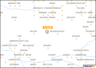map of Bania