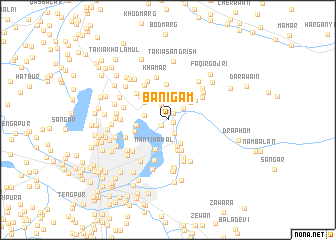 map of Bānigām