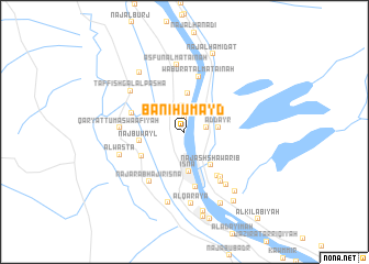 map of Banī Ḩumayd