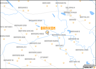 map of Ban I Kom