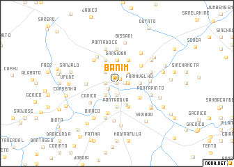map of Banim