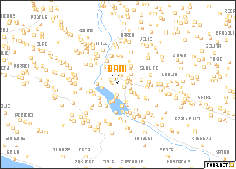 map of Bani