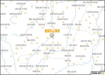 map of Banjar