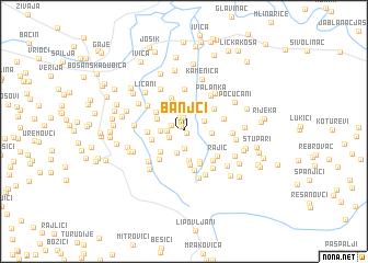 map of Banjci