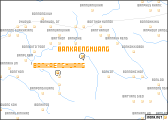 map of Ban Kaeng Muang