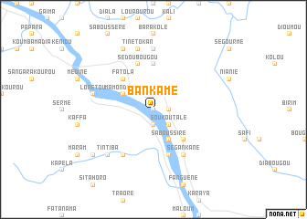 map of Bankamé