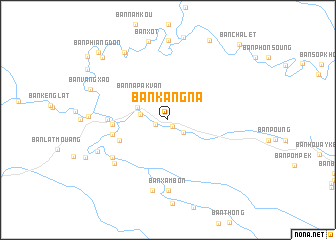 map of Ban Kang-Na