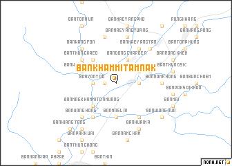 map of Ban Kham Mi Tamnak