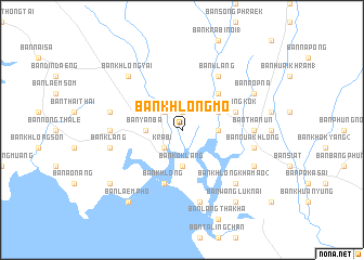 map of Ban Khlong Mo