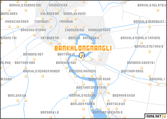 map of Ban Khlong Nang Li
