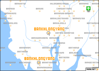 map of Ban Khlong Yang