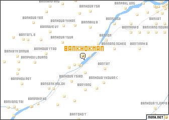 map of Ban Khôkman