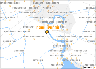 map of Ban Khru Nok